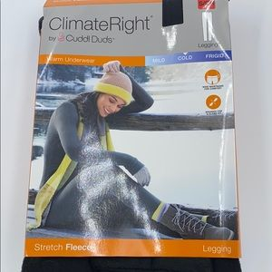 Climate Right by Cuddl Duds legging